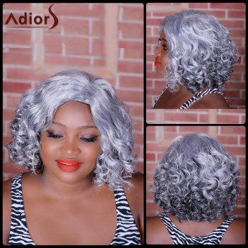 Adiors Medium Highlight Side Parting Curly Synthetic Wig