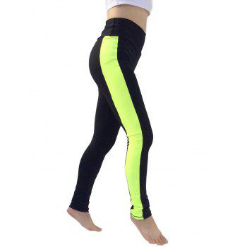 Color Block High Waist Yoga Leggings