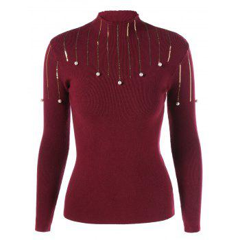 Beaded Sequin Embellished Knitwear