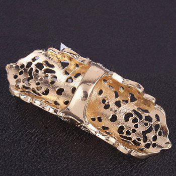 Vintage Hollow Out Bows Ring - GOLDEN ONE-SIZE