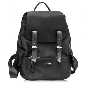Nylon Buckle Straps Backpack