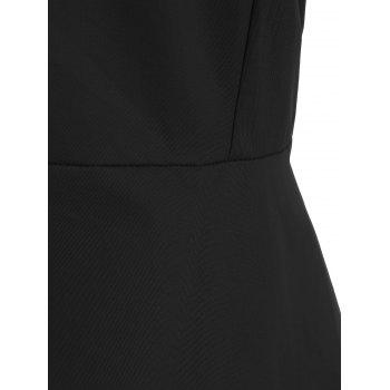 Vintage Bandage Fit and Flare Dress - S S