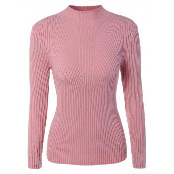 Long Sleeve Pullover Slim Sweater