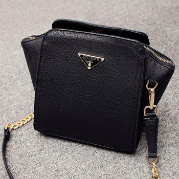 Chain Metal Embossing Crossbody Bag