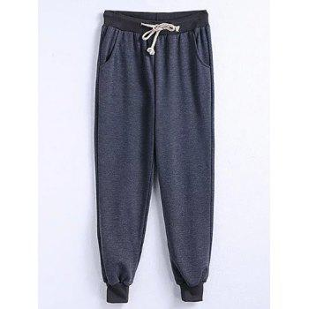 Drawstring Plus Size Big and Tall Jogger Pants