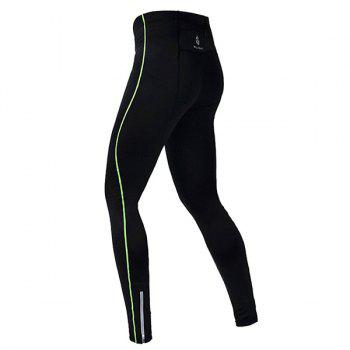 Professional Breathable Quick Dry Tight Cycling Pants - GREEN GREEN