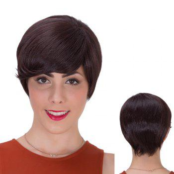 Short Side Bang Straight Gorgeous Synthetic Wig
