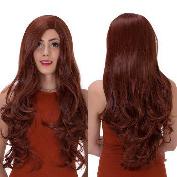 Impressive Long Side Parting Wavy Synthetic Wig
