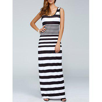 Stripe Long Tank Dress
