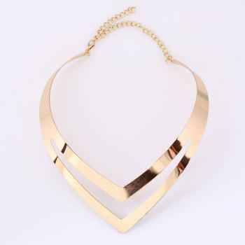 V Shape Alloy Necklace