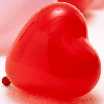 100PCS Heart Balloon Christmas Wedding Party Supplies Decoration -  COLORFUL