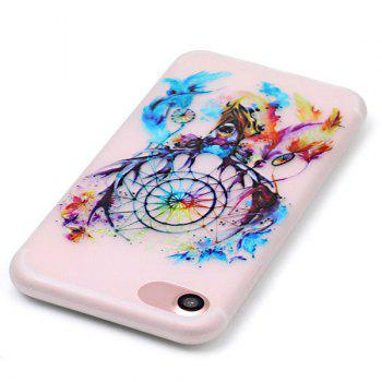 Silicon Deer Bells Night Luminous Phone Back Cover For iPhone 7 - TRANSPARENT