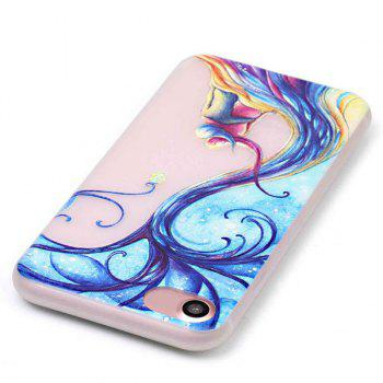 Soft Silicon Night Luminous Phone Back Case Protection For iPhone 7 - TRANSPARENT