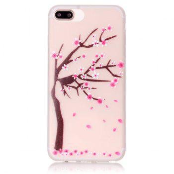 Soft TPU Night Luminous Phone Back Cover For iPhone 7 Plus