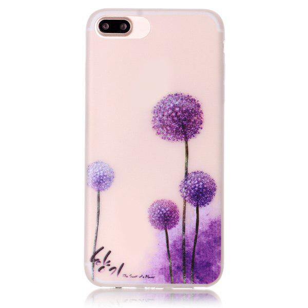 Buy Soft Silicon Dandelion Phone Back Protection Night Luminous iPhone 7 Plus Case TRANSPARENT
