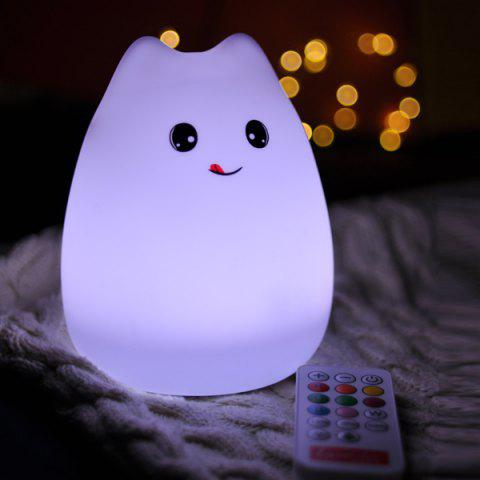 Remote Control Colorful Cartoon LED Decoration Night Light - COLORFUL