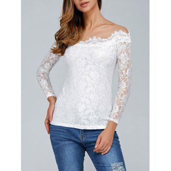 Laciness See-Through T-Shirt