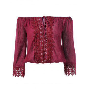 Lace Embroidery Blouse