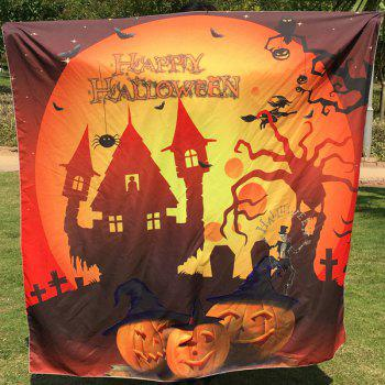 Halloween Festival Carnival Print Square Scarf