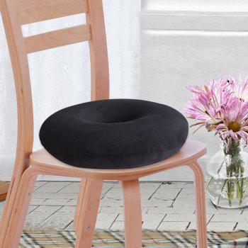 Comfortable Donut Short Plush Memory Seat Cushion