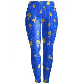 Fawn Bodycon Christmas Leggings