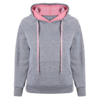 Preppy Two-Layer Hat Deign Hoodie