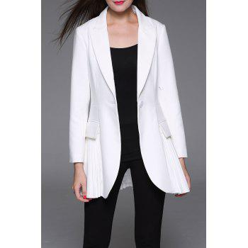 Pleated Panel Work Blazer