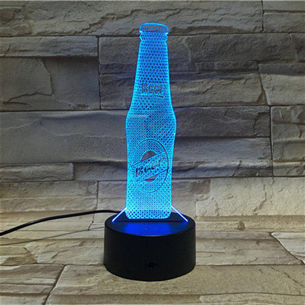 Color Gradient 3D Visual LED Beer Party AtmosphereTable Night Light