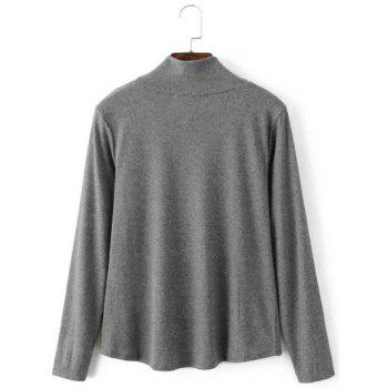 Asymétrique Layered T-shirt - Gris XL