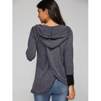Back Cross Hooded T-Shirt