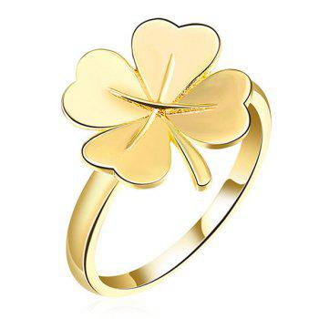 Floral Clover Ring