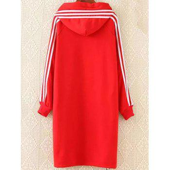 Plus Size Hoodie Dress - XL XL
