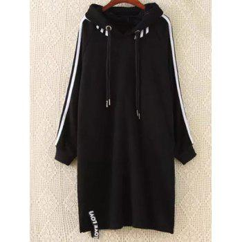 Plus Size Hoodie Dress
