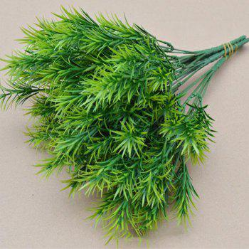 10PCS High Simulation Artificial Green Water Plant - GREEN