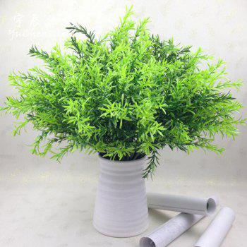 10PCS High Simulation Artificial Green Water Plant