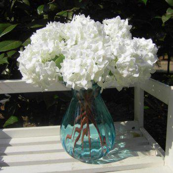 Artificial Hydrangea Flower For Wedding Home Decoration - WHITE WHITE