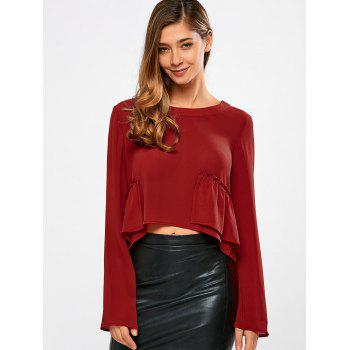 Frilly Long Sleeve Top