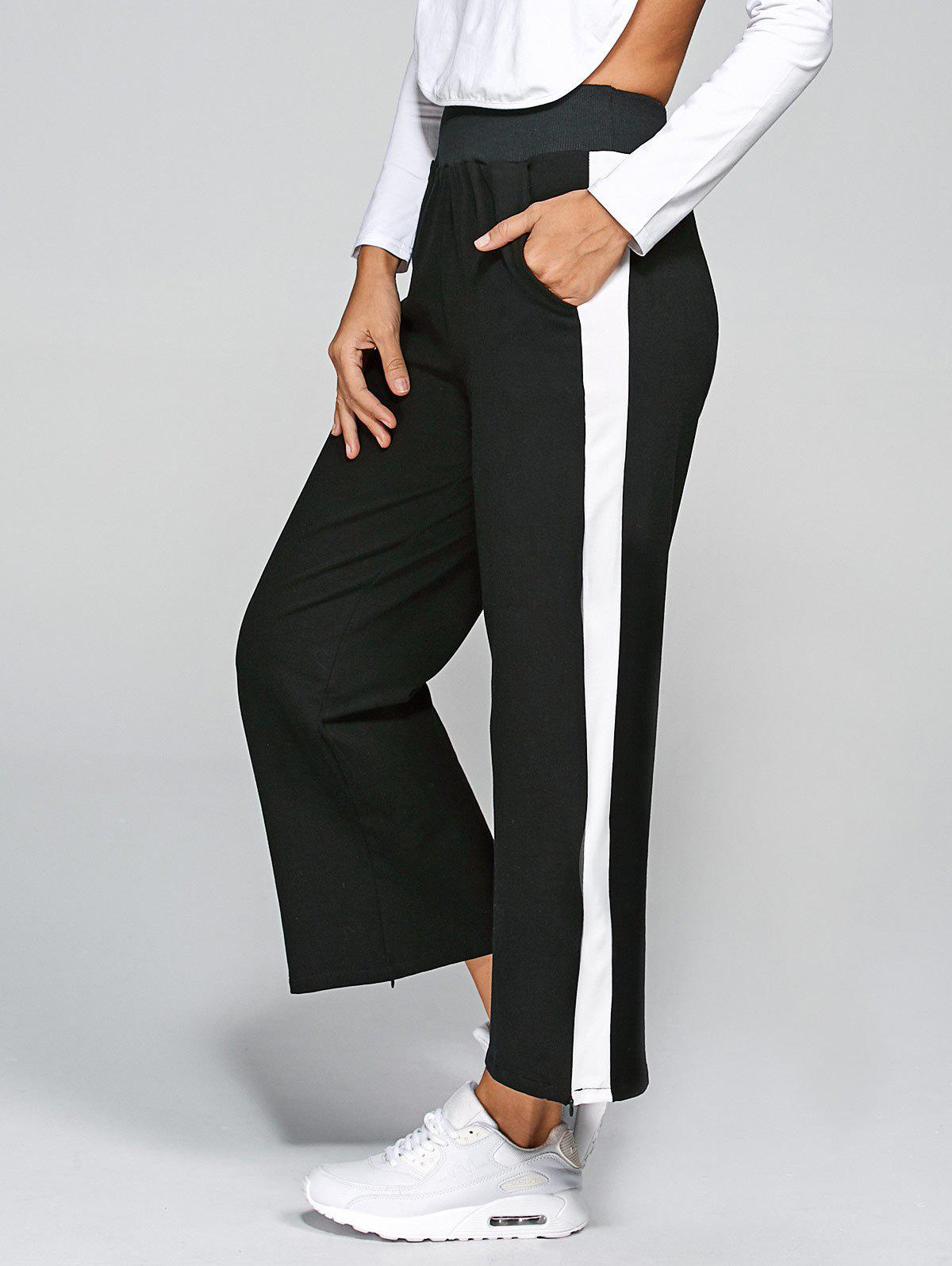 Active Striped Slit Pants от Dresslily.com INT
