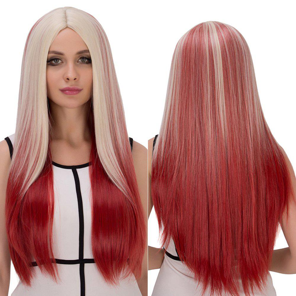 Long Centre Parting Straight Film Character Cosplay Wig