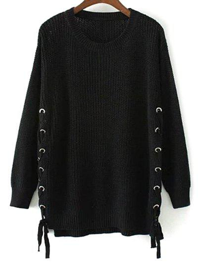 Side Lace Up Open Knit Sweater inc international concepts new olive open knit sweater msrp $89 5 dbfl