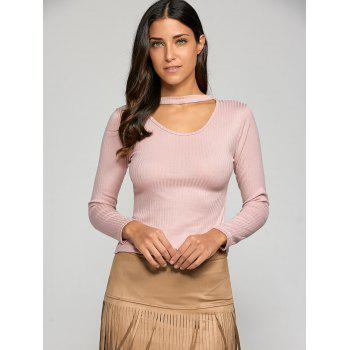 Hollow Out Slimming Knitwear