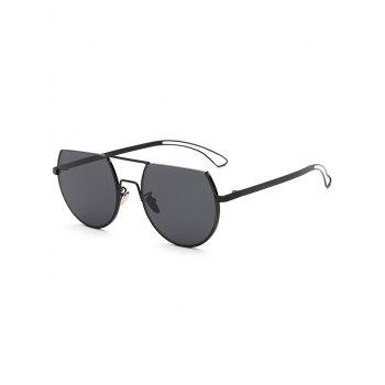 Cool Hollow Out Leg Scrape Off Top Sunglasses