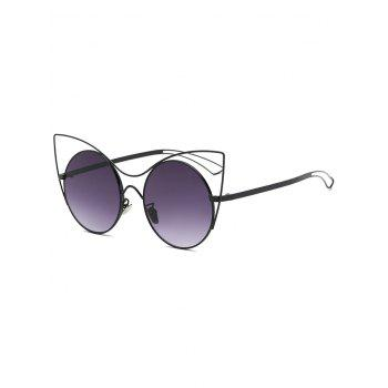 Cool Hollow Out Leg Cat Eye Sunglasses
