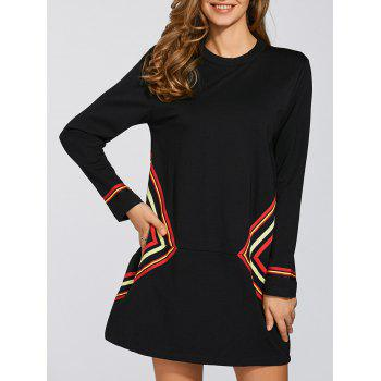 Casual Shift Dress With Sleeve