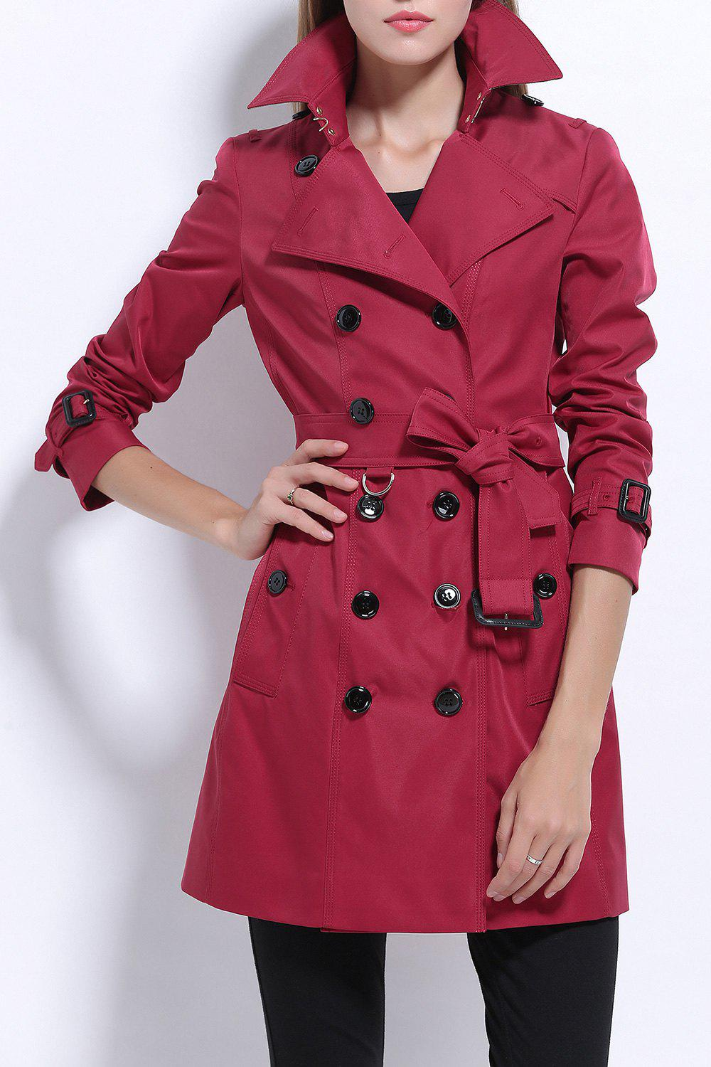 Lapel Cotton Trench Coat lapel cotton trench coat