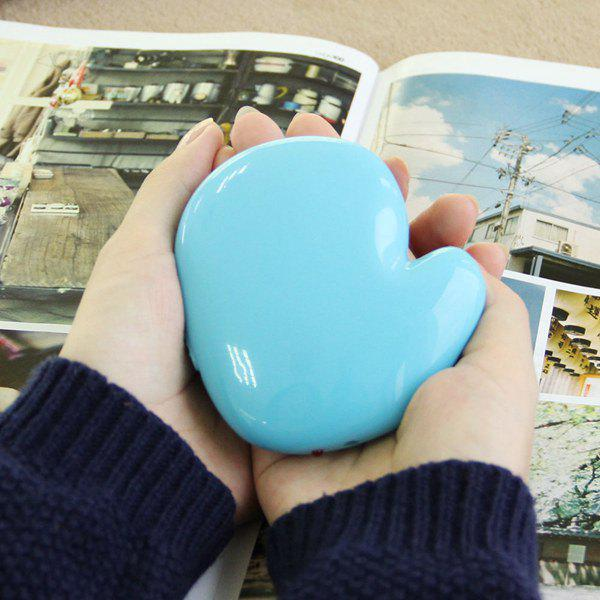 Portable USB Rechargeable Little Hand Shape Hand Warmer electric handy heater portable wall outlet electric heater stainless steel stove hand warmer hot blower room fan radiator warmer