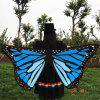 Butterfly Wings Scarf - BLUE