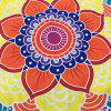 Multicolor Indian Mandala Lotus Shape Beach Throw - PINK ONE SIZE(FIT SIZE XS TO M)