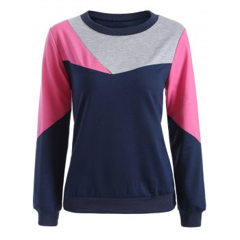 Long Sleeve Color Block Tee