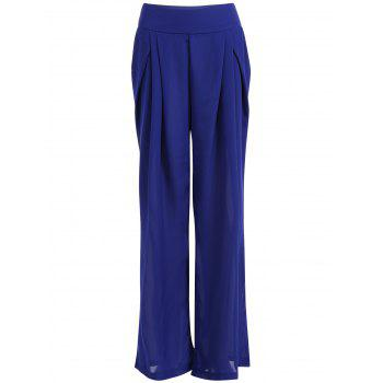 Chiffon Pleated Culotte Pants